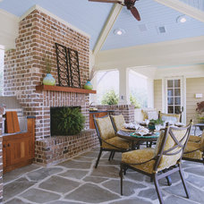 Traditional Patio by Margaret Donaldson Interiors