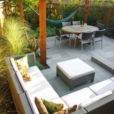 Contemporary Patio by Botanica Design