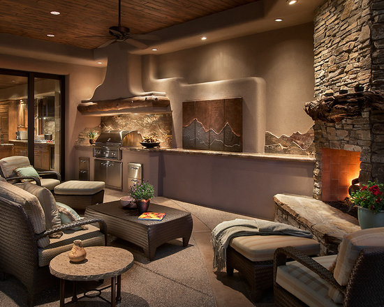 Contemporary Southwest Home Design Ideas, Pictures, Remodel And Decor