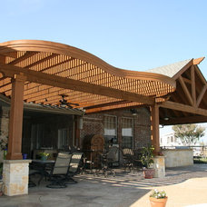 Traditional Patio by Southwest Fence & Deck