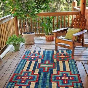 Southwest style rugs