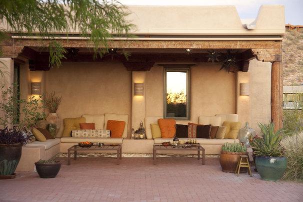 Southwestern Patio by Boxhill Design