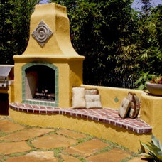 Patio by Jeffrey Gordon Smith Landscape Architecture