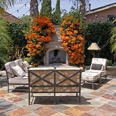transitional patio by Shelley Gardea