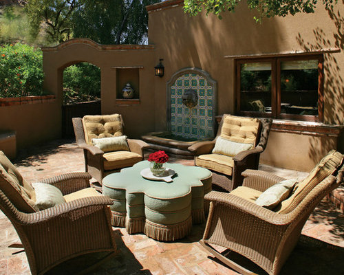 Mexican patio houzz for Mexican porch designs