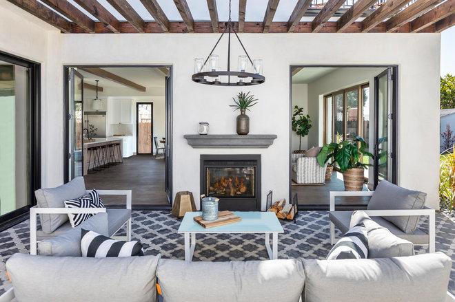 Mediterranean Patio by Madison Modern Home