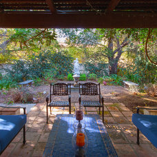 Mediterranean Patio by Peter D'Aprix Photography