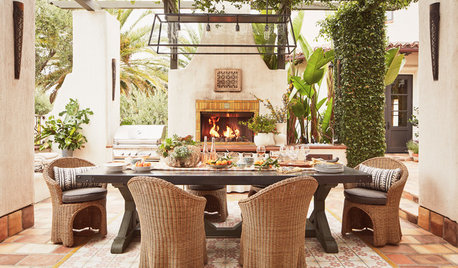 Trending: Outdoor Rooms That Invite You to Gather Around the Fire