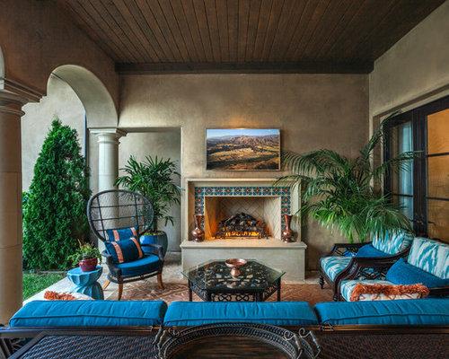 Inspiration For A Mediterranean Patio Remodel In Los Angeles. Save Photo.  Maraya Interior Design