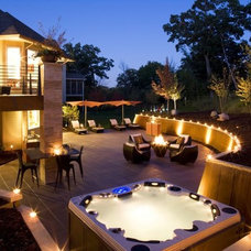 Contemporary Patio by Jaque Bethke for PURE Design Environments Inc.