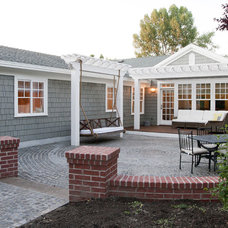 Traditional Patio by Tiek Built Homes