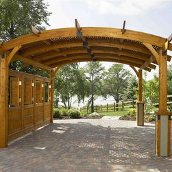 Spring Season Collection - Looking for your outdoor oasis? Our collection of beautiful pergolas can bring paradise right to your back door and is guaranteed to lighten the mood at your next outdoor party.
