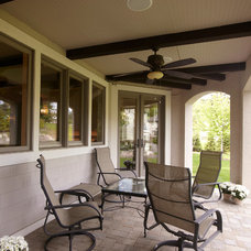 Traditional Patio by Schrader & Companies