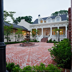 New orleans courtyard patio design ideas pictures for New orleans style house plans courtyard