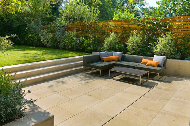 Marvelous Contemporary Patio by The Garden Builders