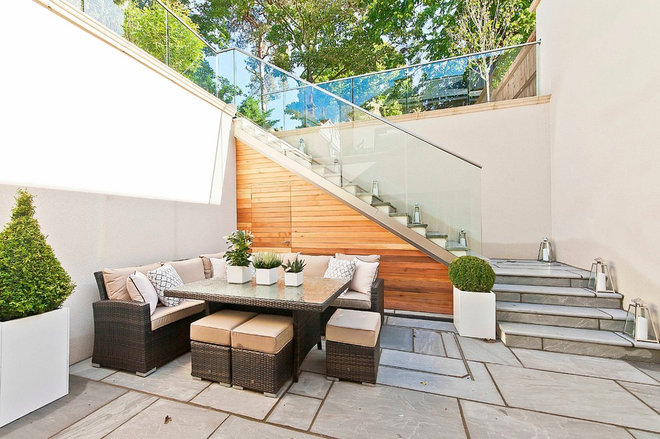 Contemporary Patio by Concept Interiors