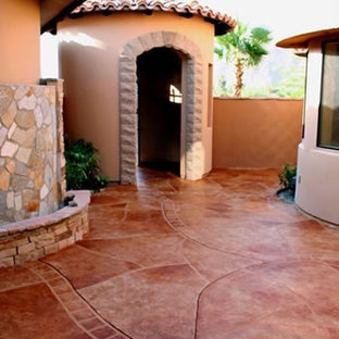 Stained Concrete Patios