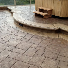 Traditional Patio by Creation Builders Inc