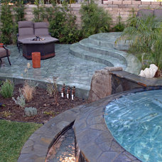 Traditional Patio by Spragues' Ready Mix Concrete