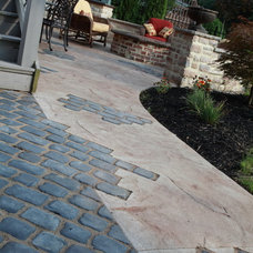 Modern Patio by Klein's Lawn and Landscaping