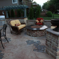 Traditional Patio by Klein's Lawn and Landscaping