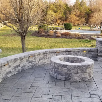 Stamped concrete patio 0019