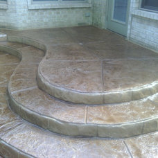 Traditional Patio by J.C. Santy Construction LLC