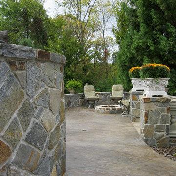 Stamped Concrete Patio Recolor