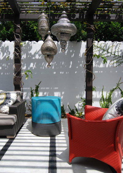 Contemporary Patio by MJ Lanphier