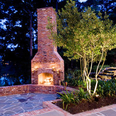 Traditional Patio by Terry M. Elston, Builder