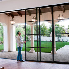 Mediterranean Patio by Euroline Steel Windows