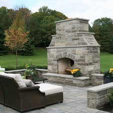Traditional Patio by The Landscape Company Inc..
