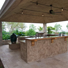 Traditional Patio by CLK Construction