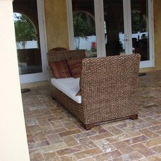 Traditional Patio by Travertine Group Imports
