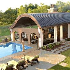 Mediterranean Patio by Edgework Builders, Inc.