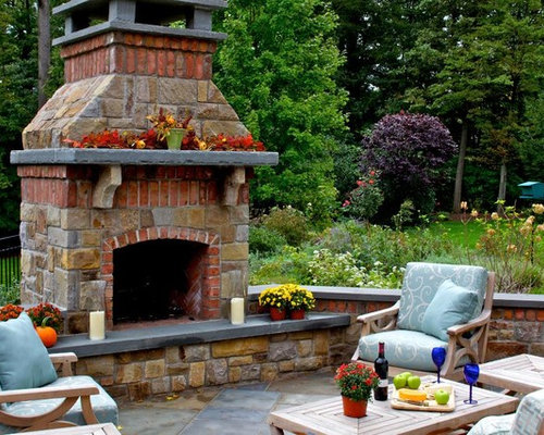 stone and brick fireplaces home design ideas pictures