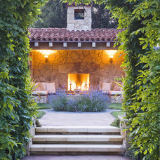 Mediterranean Patio by Lori Smyth Design