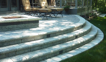 stone patio & maintenance free deck