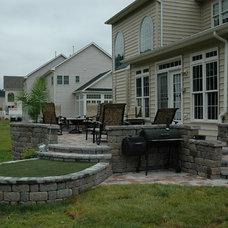 Traditional Patio by Vista Pro Landscape & Design