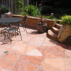 Eclectic Patio by BMF CONSTRUCTION
