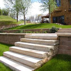 Stone steps -