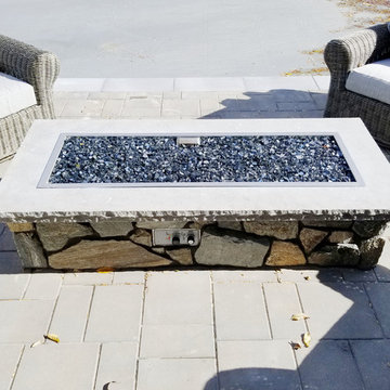 Stone used for outdoor living areas