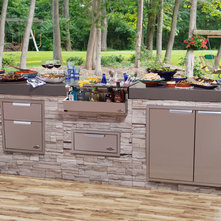 Contemporary Patio by DCS by Fisher & Paykel