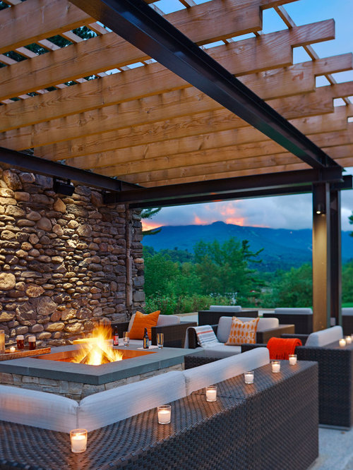 Backyard Fire Pit Ideas Houzz