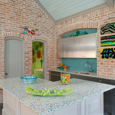 Transitional Patio by Mary Anne Smiley Interiors