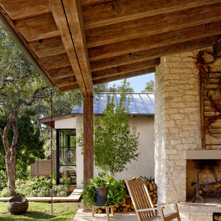 Example of a patio design in Austin