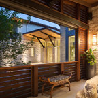 Stratford Residence Contemporary Patio Austin By