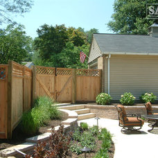 Traditional Patio by Sal's Nursery & Landscaping Inc