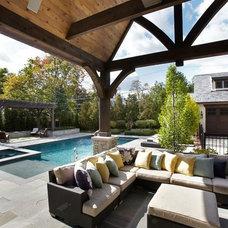 Traditional Patio by Tiburon Homes LLC