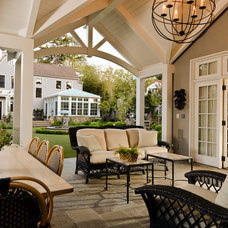 Craftsman Patio by FGY Architects